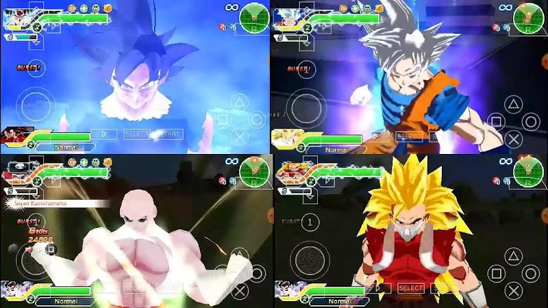 Super Dragon Ball Heroes Budokai Tenkaichi 3 MOD New PSP ISO Download