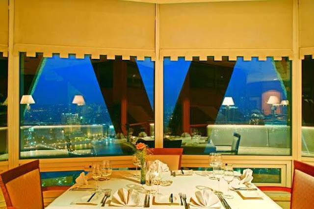 مطاعم برج القاهرة من الداخل Cairo Tower Inside