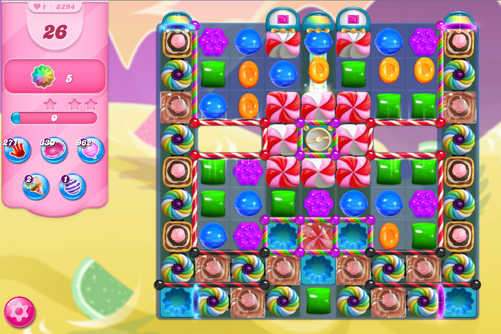 Candy Crush Saga level 8294
