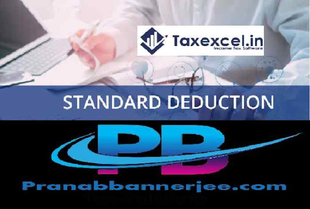 Income Tax Standard Deduction U/s 10(1a)