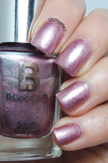 Smalto rosa Basic Beauty 116 pink foil nail polish #nails #manicure #lightyournails