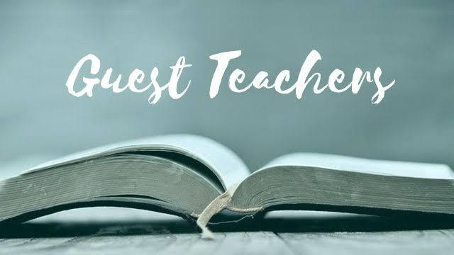 Guest Teachers Recruitment