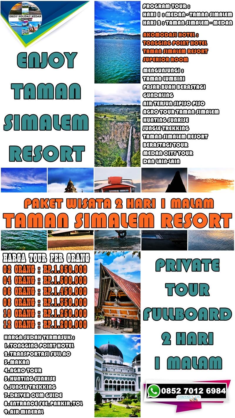 2D1N Paket Wisata Taman Simalem Resort