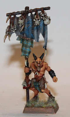 Painted Beastman Games Workshop