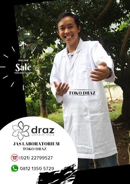 promo seragam jas laboratorium satuan tahun 2019
