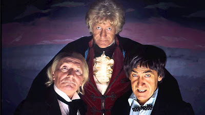 The first 3 Doctors - photo from dailytelegraph.com.au