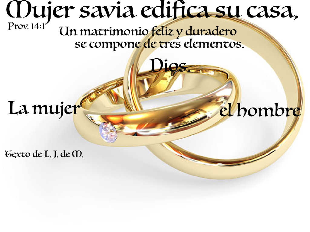 Matrimonio Catolico Vs Matrimonio Cristiano : Meditaciones matinales los lazos del matrimonio