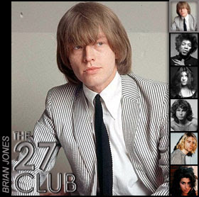 Brian Jones Died By Drowning