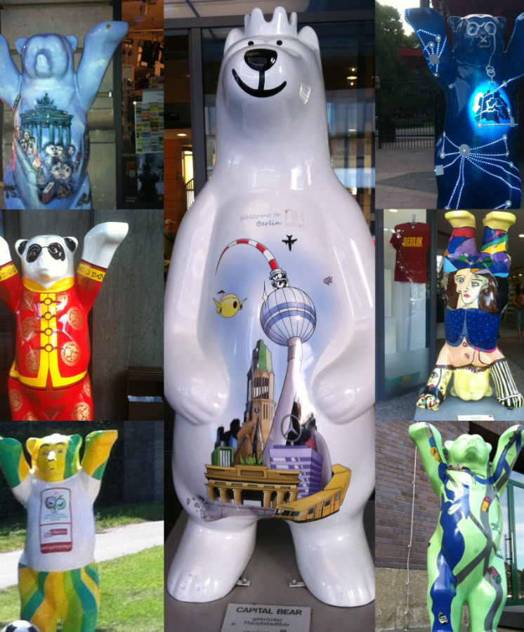 buddy bears berlin alemania