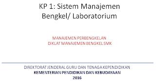 Diklat Manajemen Bengkel SMK