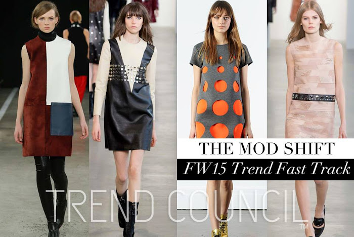 TRENDS // TREND COUNCIL - FW 2015 RUNWAY TRENDS