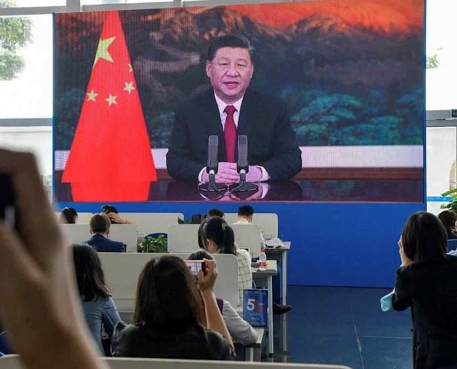 Xi Jinping no Dia do Clima 2021 prometeu zerar emissões chinesas danosas em ... 2060