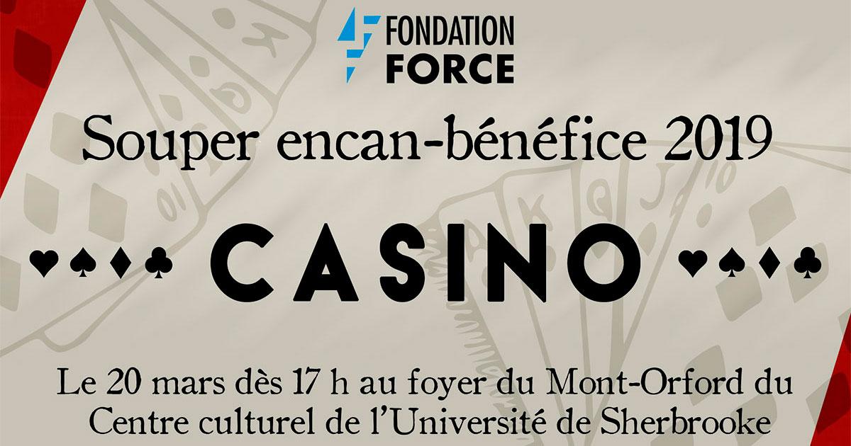 Souper encan-bénéfice de la Fondation FORCE