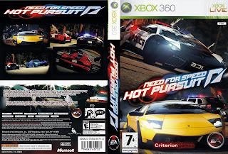 Capa Need For Speed Hot Pursuit Xbox 360