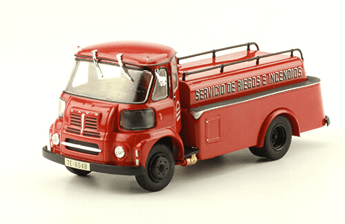 SAVA BMC S-66 1988 Bomberos Zaragoza vehículos de reparto y servicio salvat