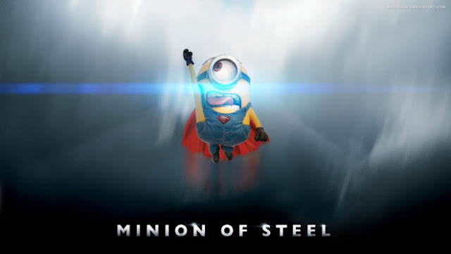 Minions man of steel Despicable Me HD Desktop Wallpapers