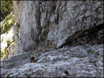 Vía Homedes al Gat, Pedraforca