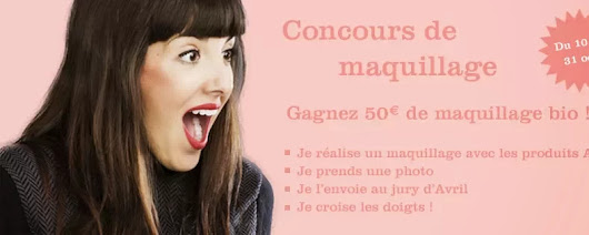 Maquillage bio [Concours AVRIL ]