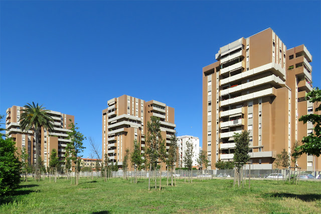Apartment buildings, Via Calatafimi, Livorno
