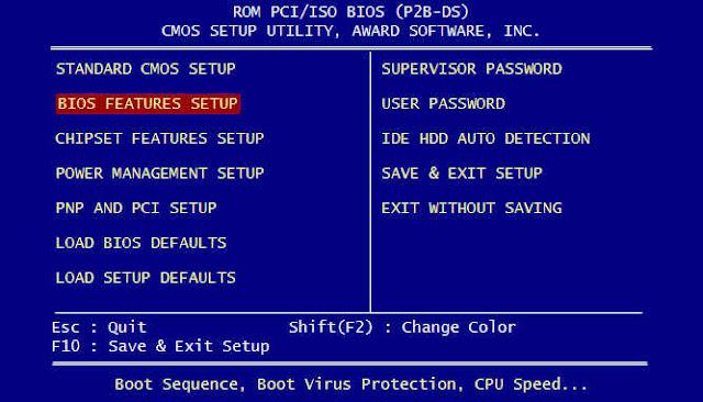 Pengertian BIOS dan Fungsinya