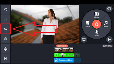 Cara Export Video di KineMaster