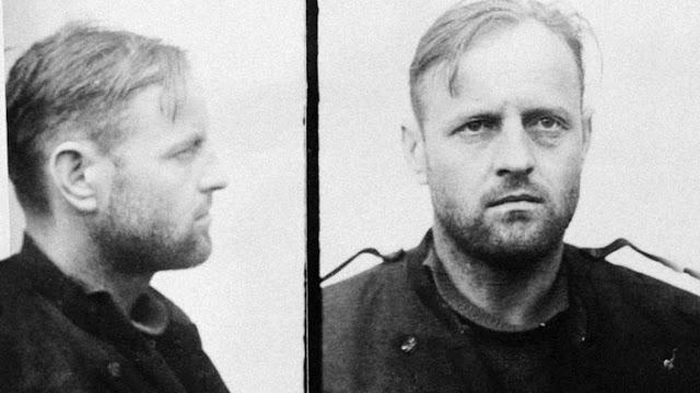 Franz Murer tras su captura
