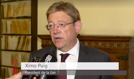 Puig anuncia un plan extraordinario de 5,8 millones de euros para impulsar el empleo en los municipios afectados por la DANA