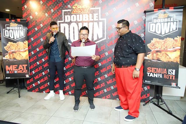 KFC Fans Party : Zinger Double Down Kembali