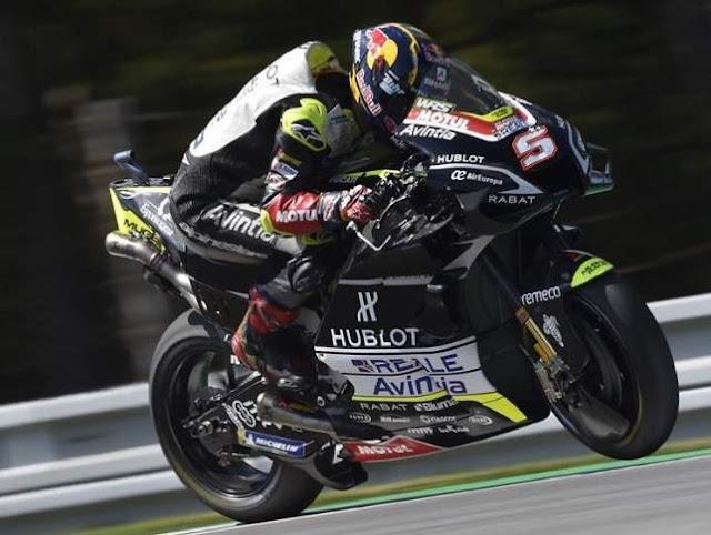 Johan Zarco Pole Position motoGP Brno 2020