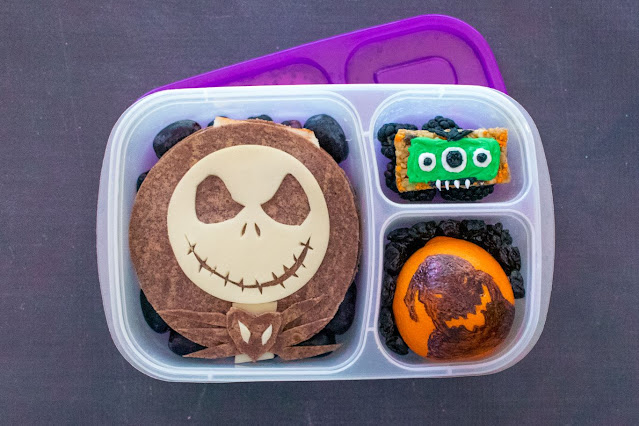 How to Make a The Nightmare Before Christmas Jack Skellington Lunch