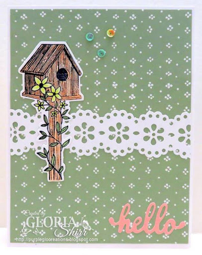 Featured Card At D.L. Art Challenge Blog