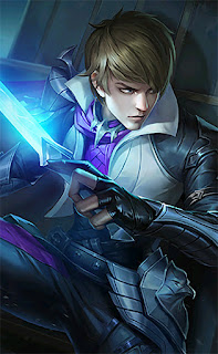 Gusion Holy Blade Heroes Assassin Mage of Skins V4