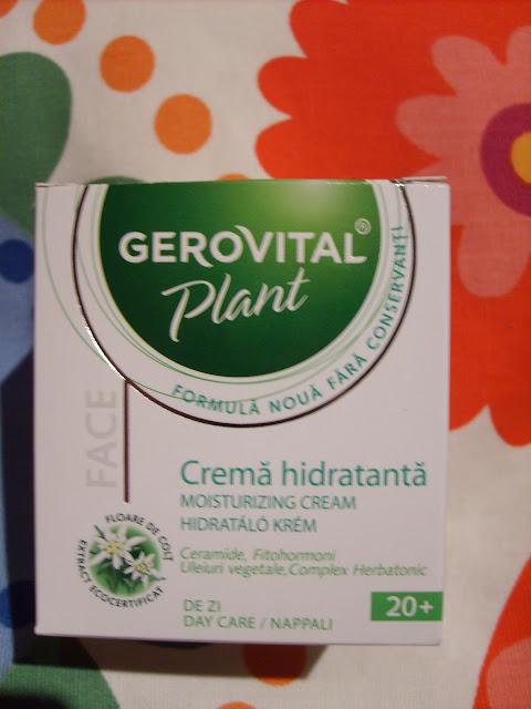 Gerovital Plant hidratáló krém (BIO) - About