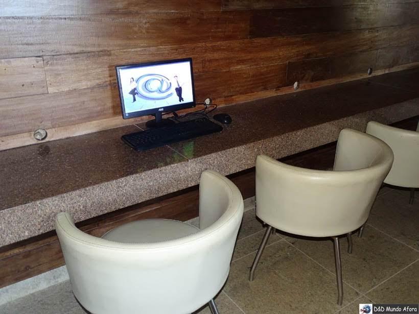 Sala de internet - Gran Hotel Stella Maris Resort - Onde ficar em Salvador