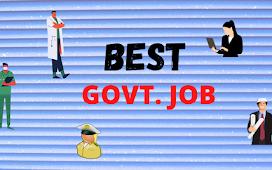 Best Govt Job In India for Job Aspirant
