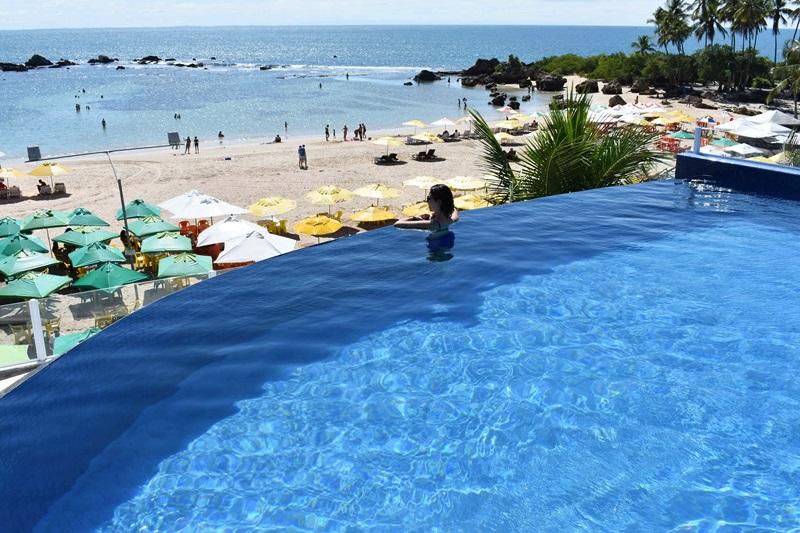 Melhor praia para se hospedar em Morro de São Paulo