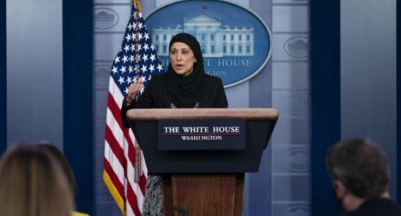 Heboh Pejabat AS Tampil Berjilbab di Gedung Putih, Ini Sosok Sameera Fazili