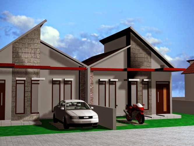 Contoh Rumah Minimalis Type 36 lantai 1 dan 2 | Aku Rumah ...