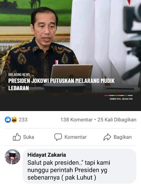 Luhut the real presiden