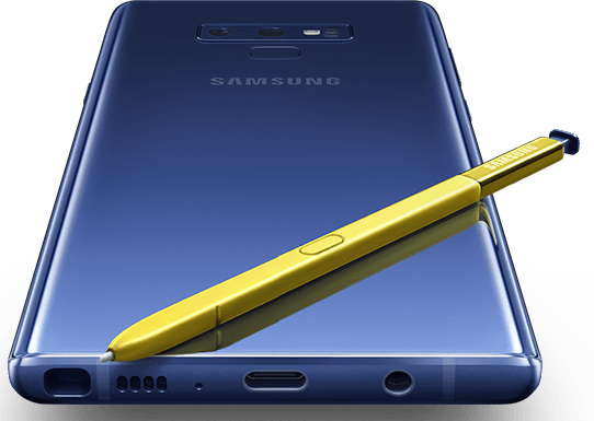 SAMSUNG GALAXY NOTE 9 IN INDIA
