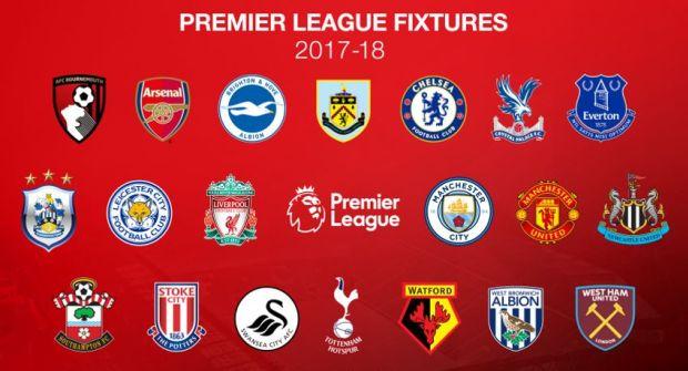Jadwal liga inggris dan hasil terlengkap pekan 1 38 musim 20172018 stopboris Image collections