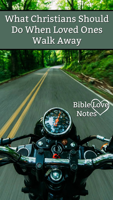 Sometimes you've done your best to make peace but the other person isn't interested in reconciling. This 1-minute devotion shares the Christian response. #BibleLoveNotes #Bible