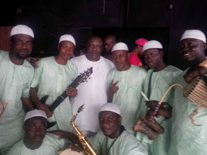 saheed osupa band walked out stage