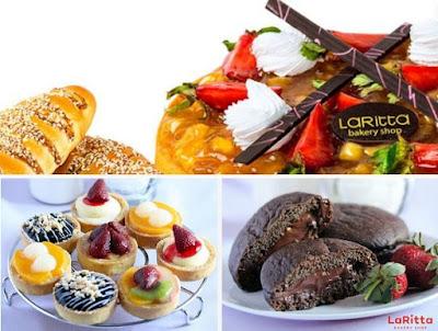 alamat toko Larissa Bakery Surabaya terdekat