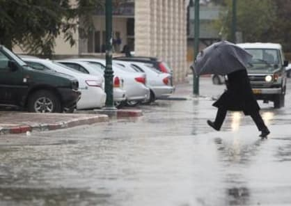 حالة الطقس وتوقعات باشتداد موجة الأمطار في البلاد
