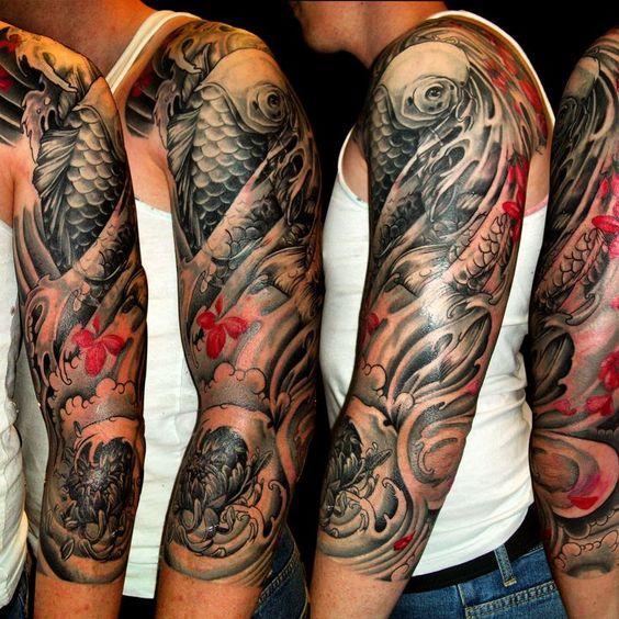 Tatuajes De Carpas Japonesas En El Brazo Belagoria La Web De Los