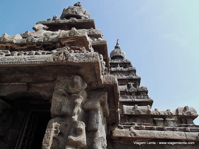 Shore Temple, em Mahabalipuram