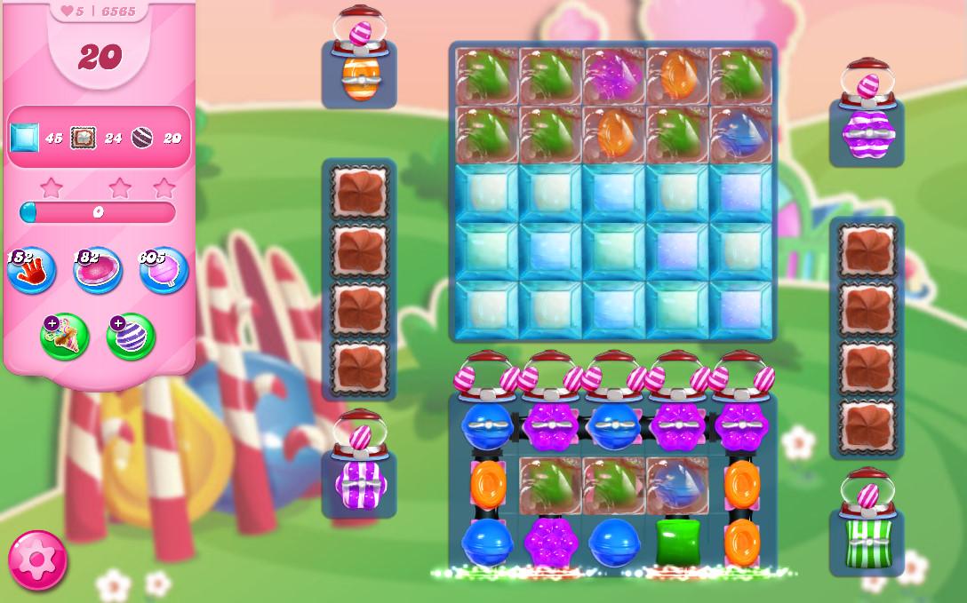 Candy Crush Saga level 6565