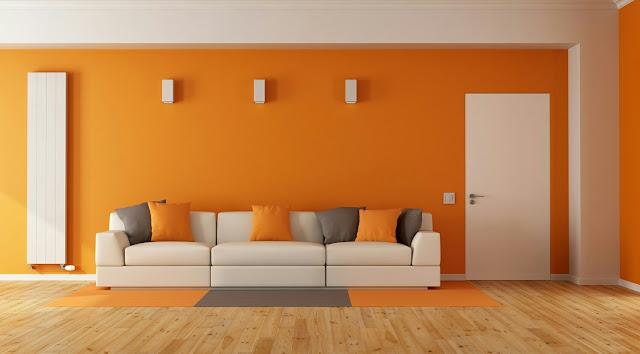 Orange House Paint