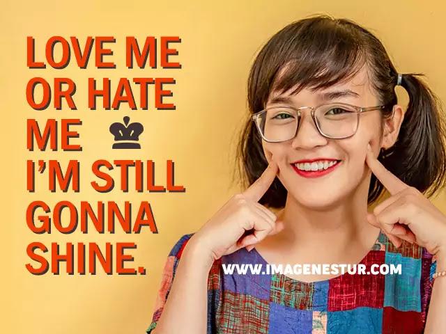 Attitude Caption for girls